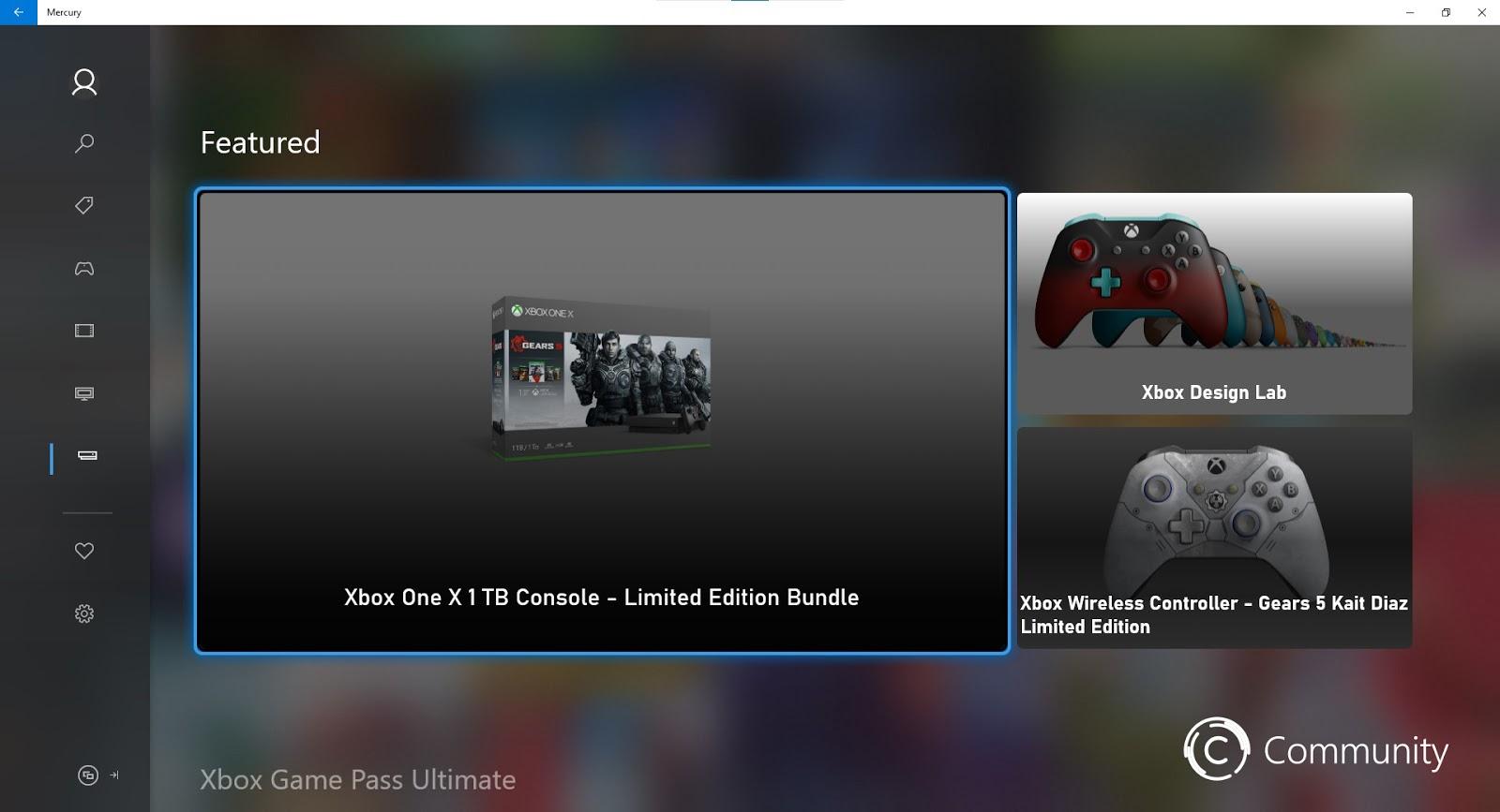 Questo il nuovo Microsoft Xbox Store