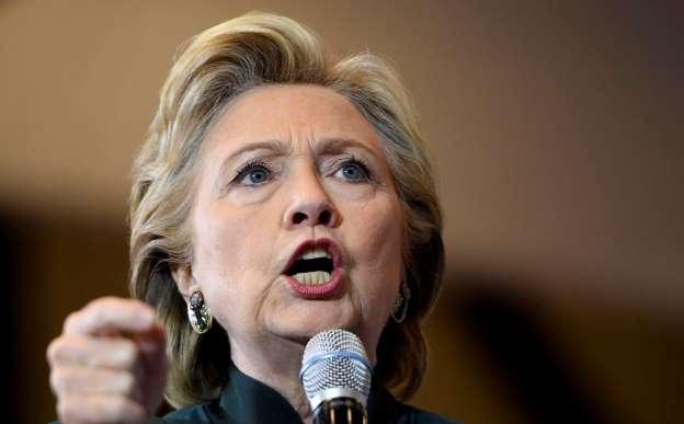 Clinton campaign receives envelope with suspicious powder