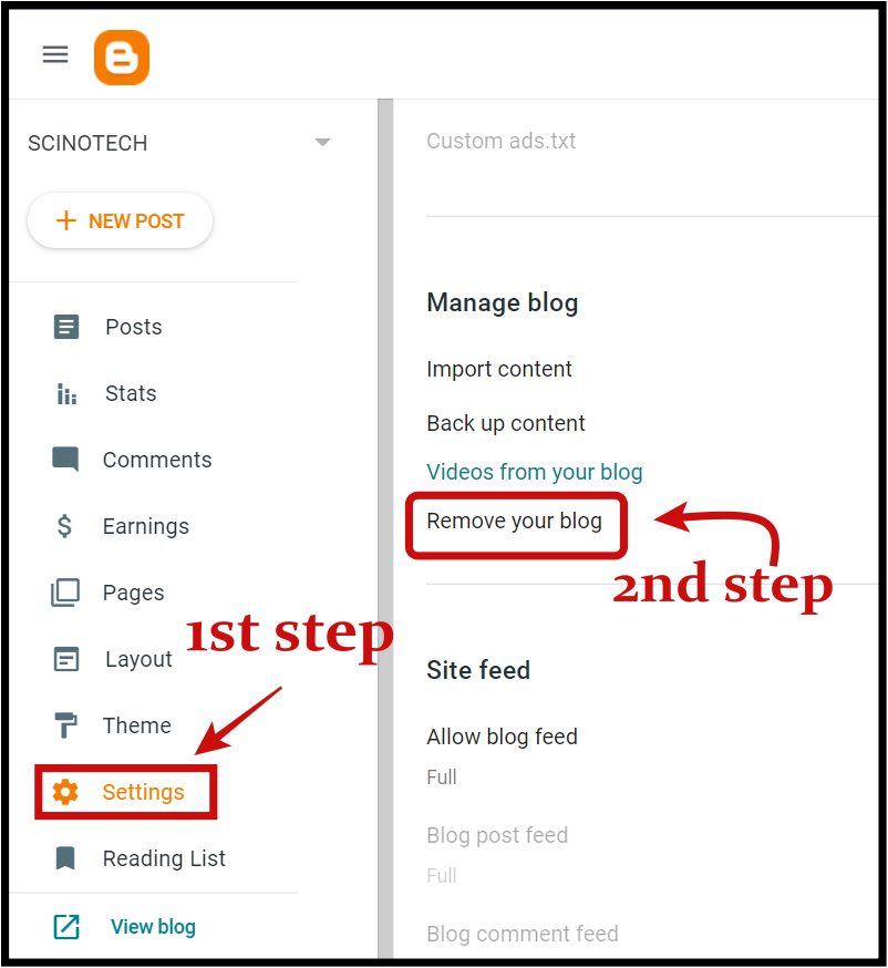 go-to-settings-then-go-to-manage-blog