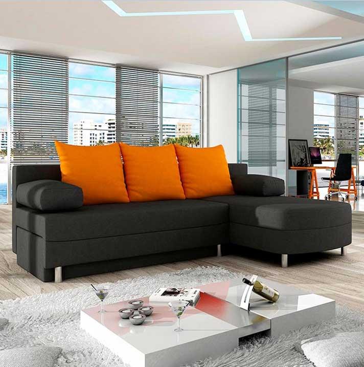 Die Kleines Ecksofa als beste Lösung für kleine Wohnzimmer | Haus ...