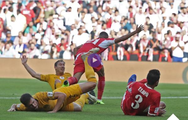فيديو : منتخب الأردن يسطر فوزاً للتاريخ على أستراليا  Australia vs Jordan