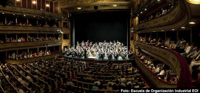 60 aniversario EOI - Concierto Daniel Barenboim Teatro La Zarzuela Madrid