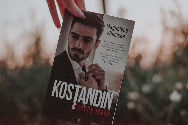 """Magdalena Winnicka - ,,Kostandin. Grzechy mafii"""" (recenzja)"""