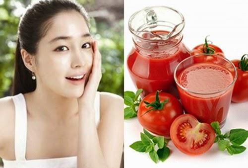 Cách làm trắng da nhanh chóng tại nhà với cà chua hiệu quả