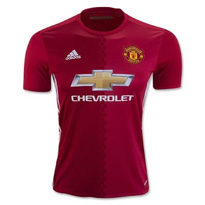 Jual Jersey Manchester United Home 2016/2017 Grade Ori