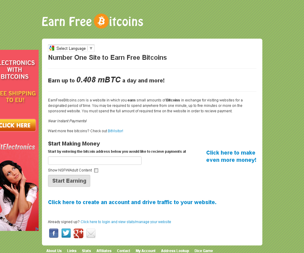 The Bitcoin Master: Site Review: Earn Free Bitcoins (4 updates)