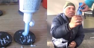 Νεαρός έδωσε μπισκότα με οδοντόκρεμα σε άστεγο για να του κάνει φάρσα