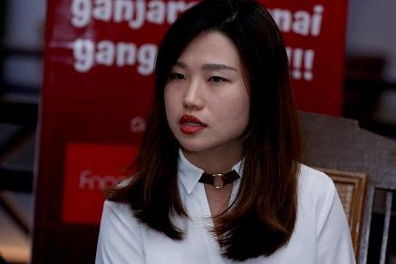 Yujiao Kong  selaku Ketua Wakil Fingo