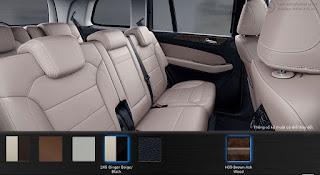 Nội thất Mercedes GLS 400 4MATIC 2019 màu Vàng Ginger/Đen 245