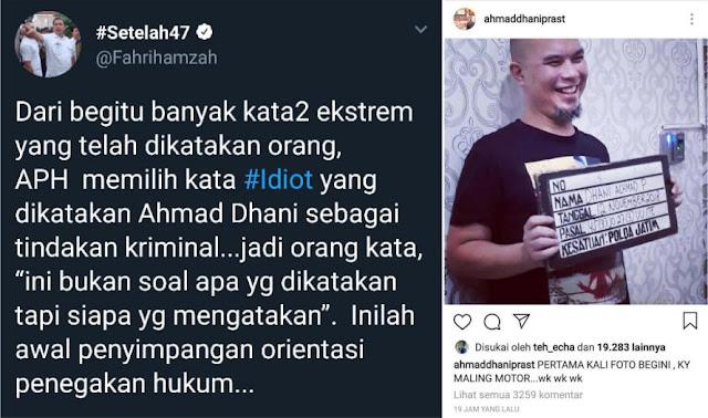 Fahri Hamzah Soroti Kasus Hukum yang Menimpa Ahmad Dhani
