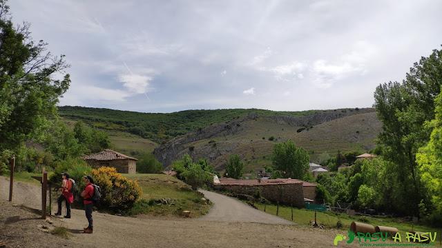 Parte superior del pueblo de Piedrasecha