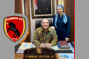 Dahsyat! Diam-diam, HBK dirikan Lombok Football Club