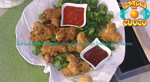 Alette di pollo ripiene fritte ricetta Moroni da Prova del Cuoco