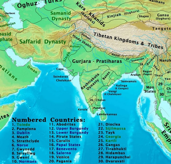 famous indian kingdoms,list of indian kings,south indian kingdoms