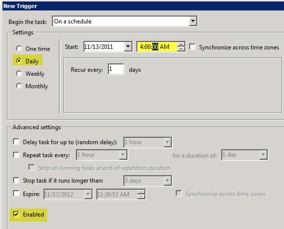 Schedule VMware UMDS Downloads with Windows Task Scheduler