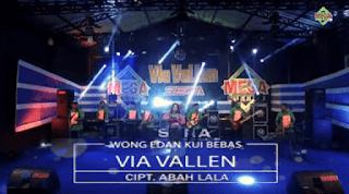 Lirik Lagu Wong Edan Kui Bebas (Dan Artinya) - Via Vallen