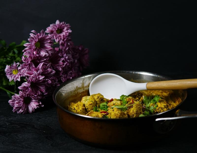 intialainen ruoka, nepalilainen ruoka, kofta, cashewpähkinä