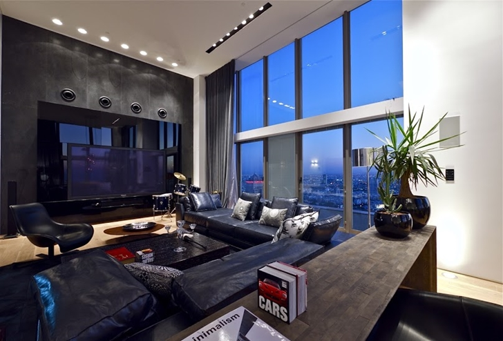 World Of Architecture Triplex Penthouse Apartment By