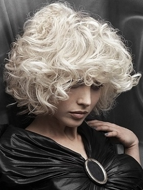Blonde Amp Curly Hairstyles The Haircut Web