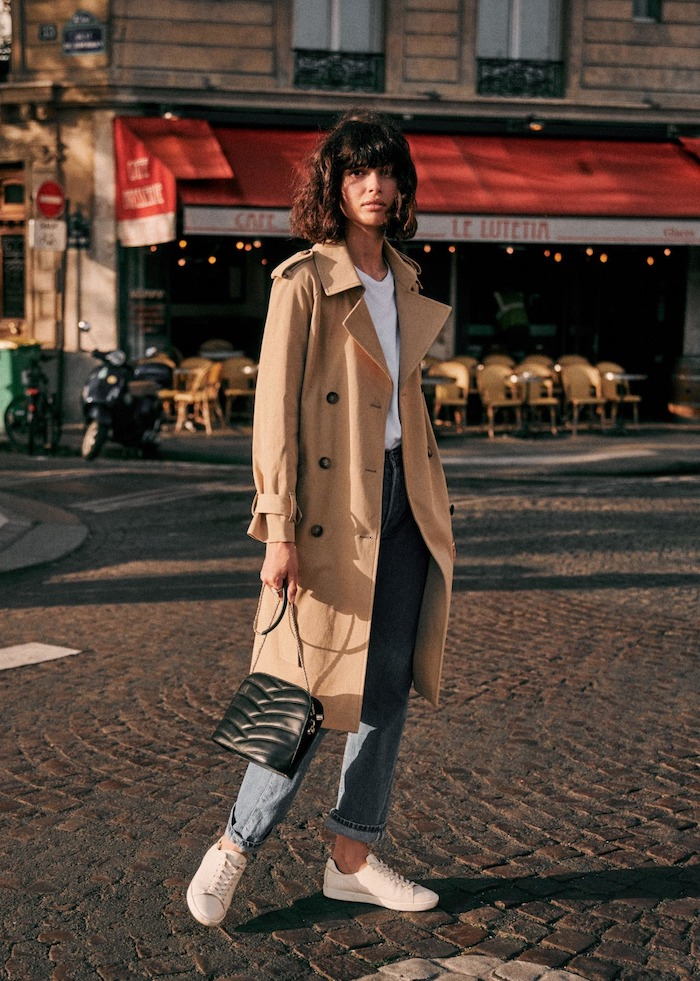 I'd Wear That, Street Style, Style Inspiration, Sezane, Trench Coat style