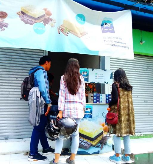 Bolu Susu Lembang Oleh-Oleh Khas Bandung