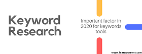 How You Can Search Your Important Keywords research In 2020?