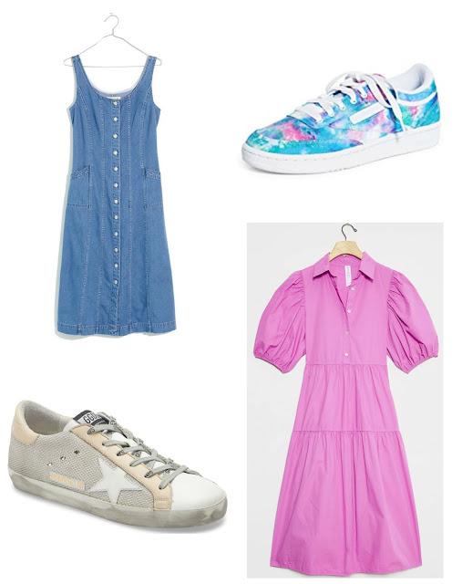 Dress + Sneaker Pairing