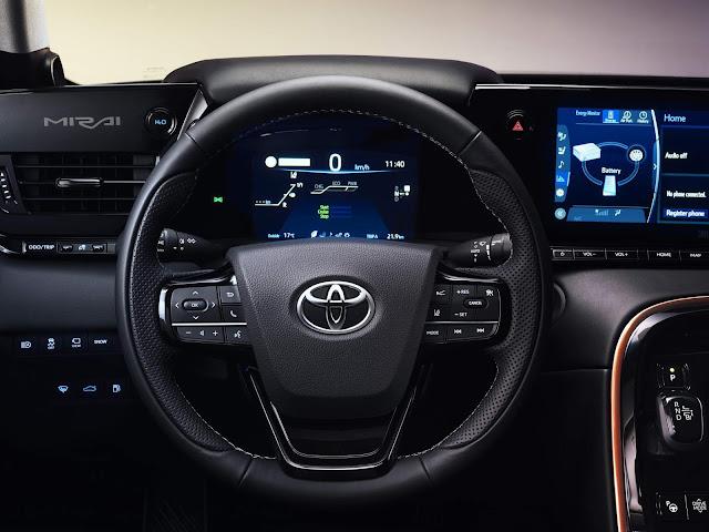 Toyota Mirai de 2º geração chega ao mercado este ano