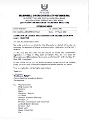 Breaking News: Check New Date Set for the Closure of Course & Exam Registration