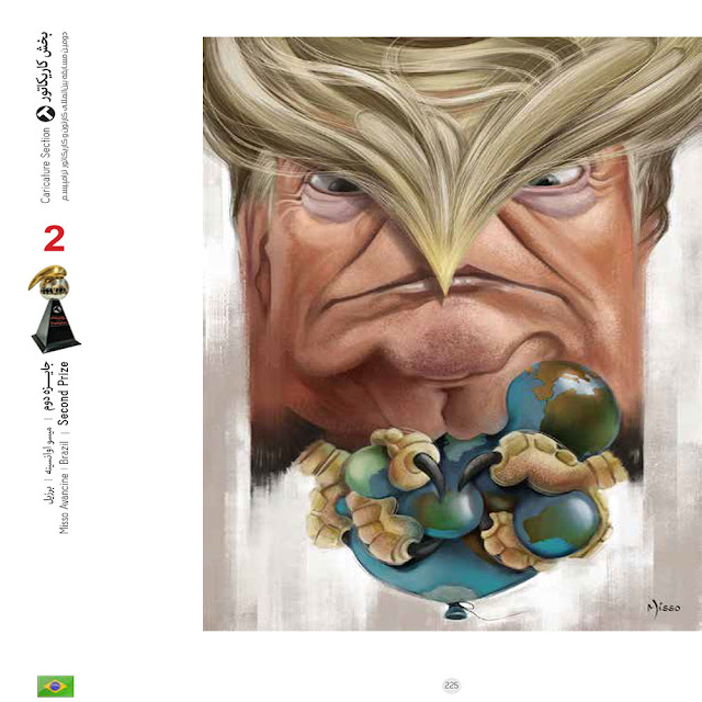 Winners of the 2nd Trumpism Cartoon & Caricature Contest