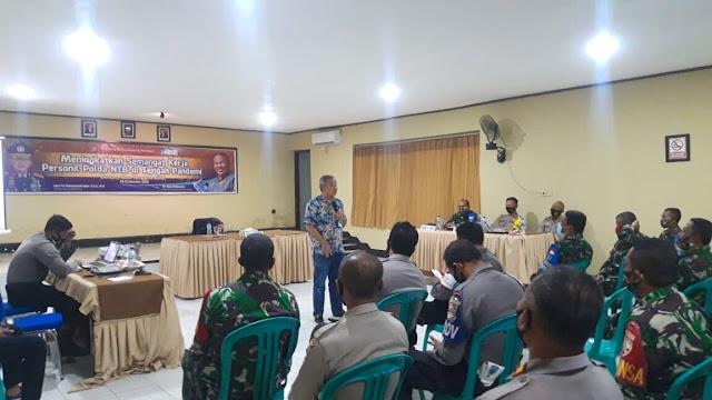 Dr Aqua Dwipayana beri motivasi di Polres Dompu