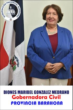 DIONES MARIBEL GONZÁLEZ MEDRANO/GOBERNADORA DE BARAHONA