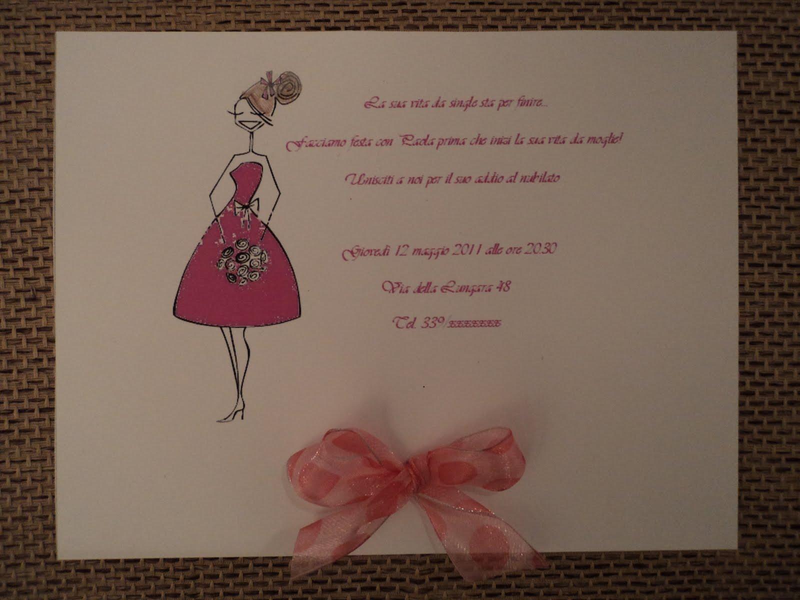 Favorito Creazioni di Raf - Wedding creations : Un simpatico invito per l  WN12
