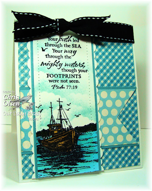 Our Daily Bread Designs, The waves on the Sea, Fishing, Chris Olsen