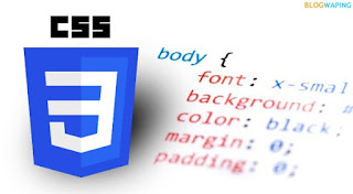 Syntax of CSS