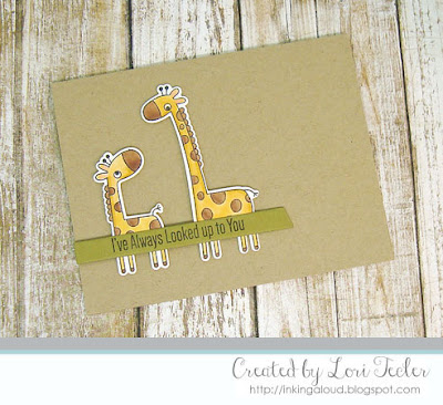 I've Always Looked Up to You card-designed by Lori Tecler/Inking Aloud-stamps and dies from My Favorite Things