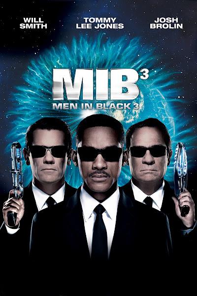 Poster Of Men In Black 3 (2012) 720p Hindi BRRip Dual Audio Full Movie Download