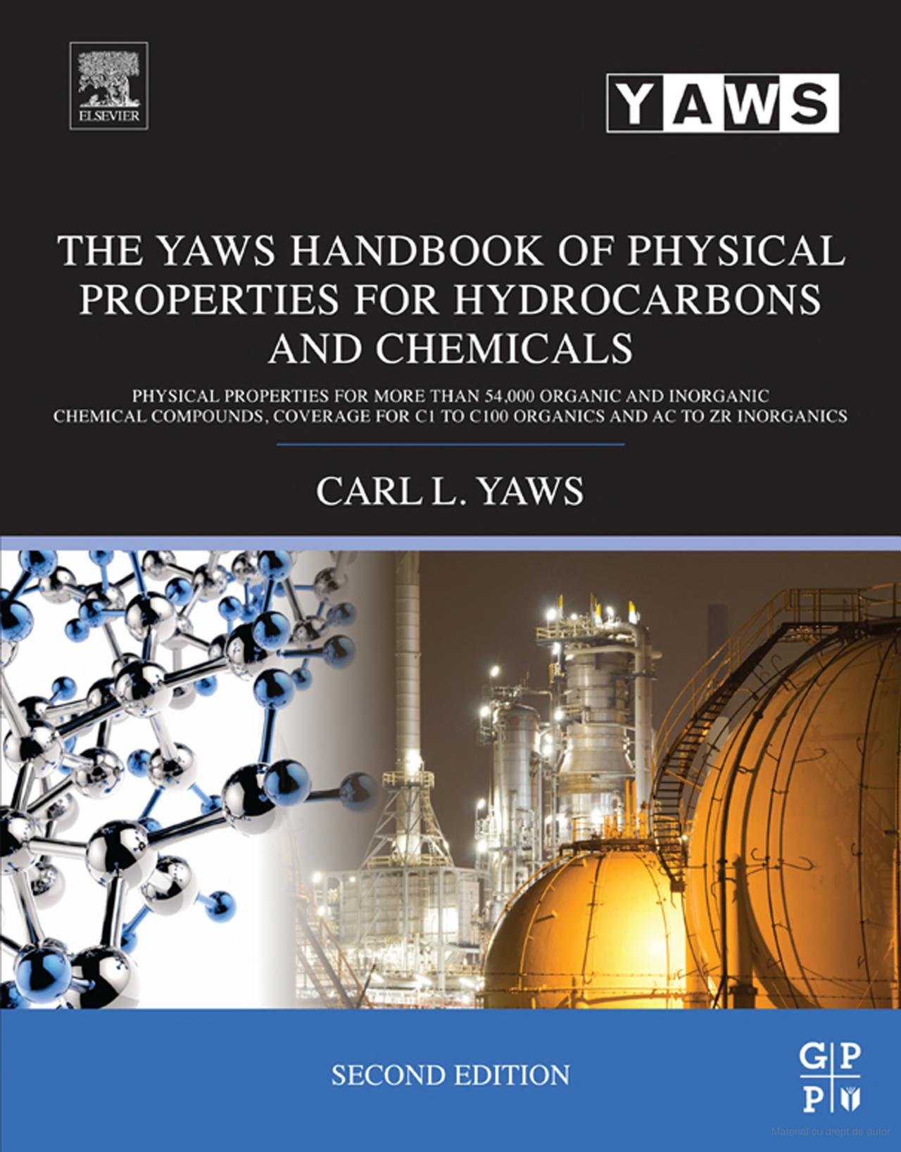 Engineering Library Ebooks  The Yaws Handbook Of Physical Properties For Hydrocarbons And