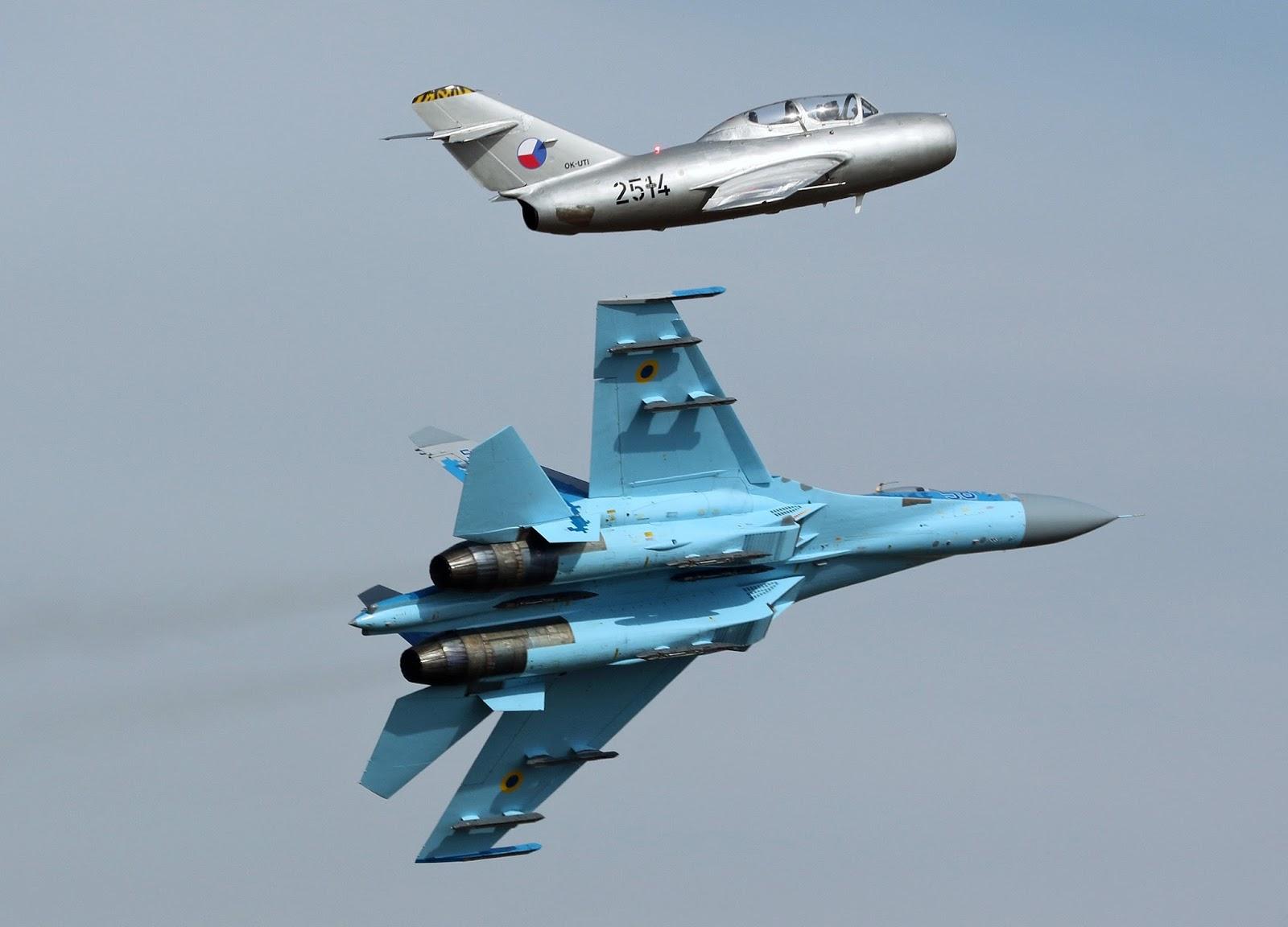 Ukrainian Su-27 CIAF-2016