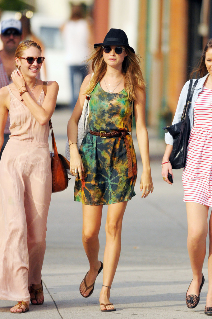 Behati Prinsloo Models Street Style for So It Goes #6