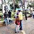 Multimídia Cultural: Artistas expressaram na praça central o seu amor por pirassununga