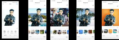 Background change single click
