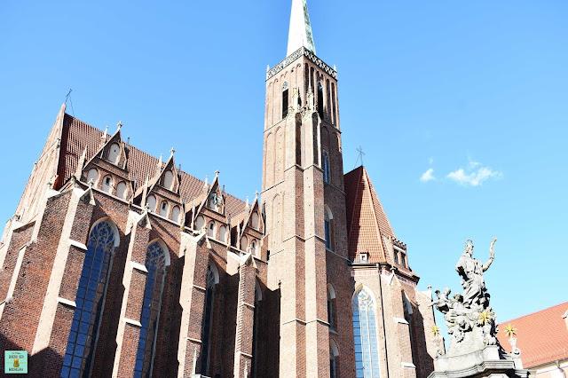 Isla de la Catedral en Wroclaw, Polonia