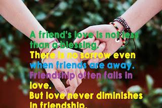 shayari on dosti funny-Friendship should not be less