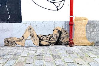 Sunday Street Art : Jae Ray Mie - place du Tertre - Paris 18