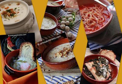 Le Raccolte dell'Antro: Zuppe, Minestre e Vellutate