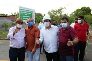 Governador inaugura asfalto e Universidade Aberta em Jatobá do Piauí