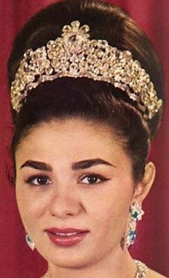 noor ol ain diamond tiara iran empress farah diba pahlavi harry winston