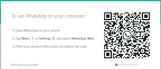 cara mengetahui barcode whatsapp