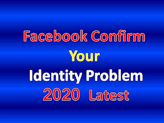 Facebook Confirm Your Identity Problem